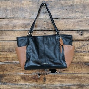Coach Park Colorblock Carrie Tote